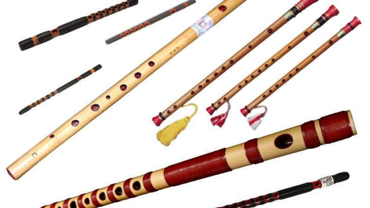 日本の横笛の種類とは?篠笛、龍笛、能管だけじゃない!